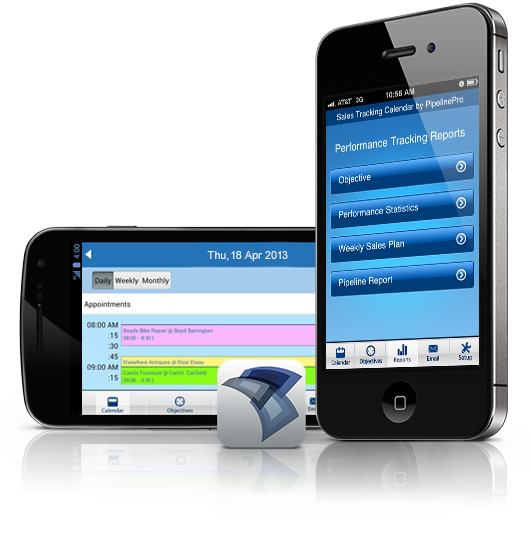 Sales Tracking Calendar App FREE for Salespeople on iPhone